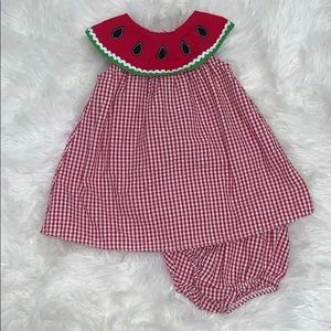 ⭐️💦🍉WATERMELON GINGHAM DRESS🍉💦⭐️